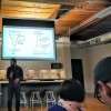 Dev Basu, founder at Powered by Search, speaking at Inbound Toronto.