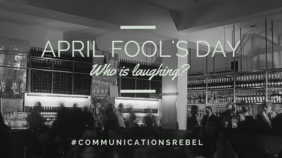 Marketing on April Fool's Day