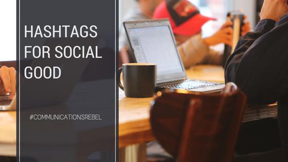 Popular Hashtags for Social Good